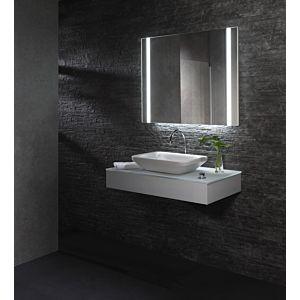 Zierath Yourstyle Pro Lichtspiegel ZYOUR1101100080 Premium,100x80cm,Touchsensor,Waschplatzbeleuchtung