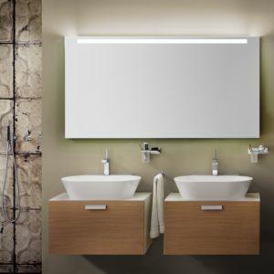 Zierath Garda LED Lichtspiegel ZGARD0301120080 120x80cm, hinterleuchtet