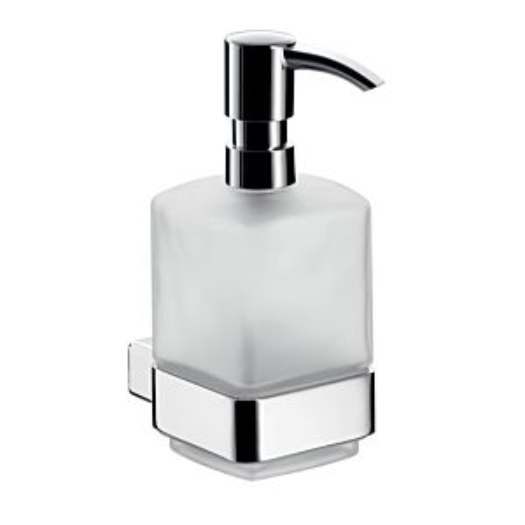Emco Loft Seifenspender 052100101  chrom, Kristall-Glas satiniert