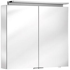 Keuco Royal L1 armoire de toilette 13603171301 argent anodisé, 800x742x150 mm
