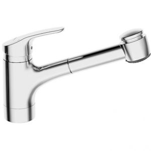 Hansa Hansamix kitchen mixer 01382283 chrome, projection 235 mm