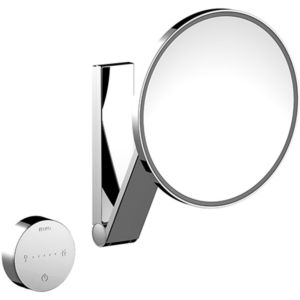 Keuco Miroirs grossissants Miroir grossissant iLook_move 17612019002 Modèle mural rond/ac éclairage chromé