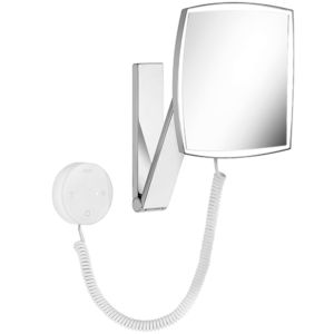 Keuco Cosmetic mirrors Cosmetic mirror iLook_move 17613019000 chrome-plated wall model squared/illuminated