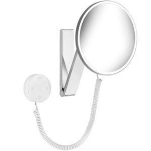 Keuco Kosmetikspiegel iLook_move 17612019000   Wandmodell, 5-fach Vergrößerung, beleuchtet, chrom