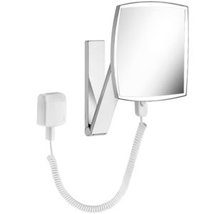 Keuco iLook_move cosmetic mirror 17613019001 with plug transformer, illuminated
