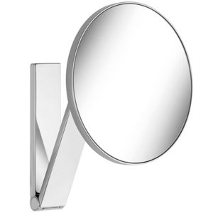 Keuco Cosmetic mirror iLook_move 17612010000 chrome-plated wall model / round