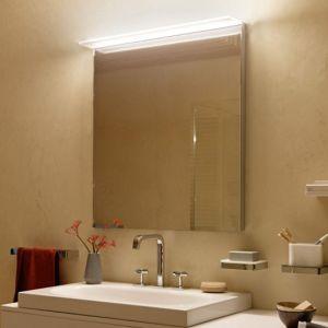 Zierath Avela LED Lichtspiegel ZAVEL0101100080 100x80cm, mit LED Leuchtsegel und Touch-Sensor