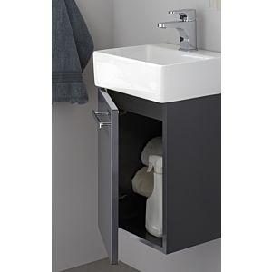 Artiqua Serie 831 Waschtischunterschrank 831-WUT-CM05-L, sangallo grau, links