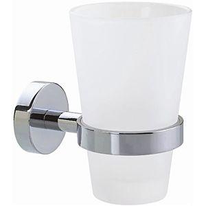 nwb Glashalter Pro 020 P02145 chrom, Glas satiniert, mit Befestigungstechnik
