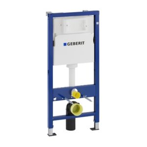 Geberit Duofix frame for wall WC 458103001 height 112 cm, with Delta concealed cistern