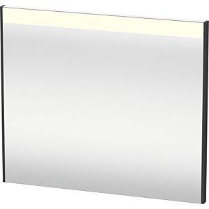 Duravit Brioso Lichtspiegel BR700204949 820x700mm Graphit Matt, mit Spiegelheizung