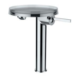 Laufen Kartell Waschtsich-Standsäulenmischer mit Deco Disc H3113380041101, ohne Ablaufgarnitur