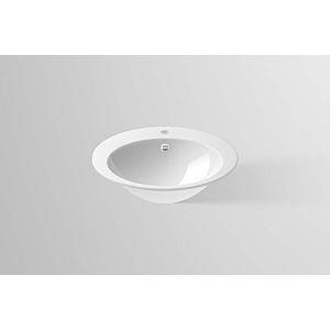Alape Vasque encastrée O600H 21040000000 60 x 50 cm, blanc, avec percement