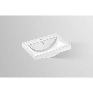 Alape Vasque à poser AB.R585H.1 3202000000 58,5 x 40,5 cm, hauteur 60mm, vitrifiée, blanc