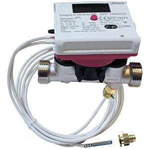Allmess Kompaktwärmezähler 561823001706HA mit Direktmessungsadapter, qp 2,5-5,2 mm HA