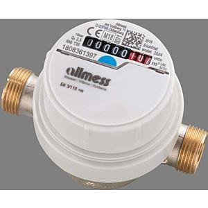 Allmess Aufputzwasserzähler 6EWB1580B40NBA EVW 3/80V, Q3 2,5, DN 15, 80mm, TU6+m