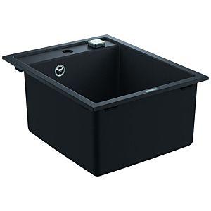 Grohe K700 Komposit-Einbauspüle 31650AP0 400x500mm, 1 Becken, granit schwarz