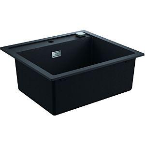 Grohe K700 Komposit-Einbauspüle 31651AP0 560x510mm, 1 Becken, granit schwarz