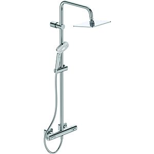 Ideal Standard Idealrain Evo shower system A6985AA with CeraTherm 100 shower thermostat, chrome