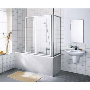 Kermi Vario 2000 Seitenwand V2TWD080142AK 71,4-74,6x140cm, weiß, ESG klar