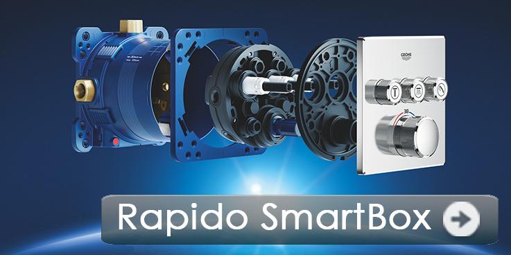 Ein technisches Meisterwerk – GROHE Rapido SmartBox.