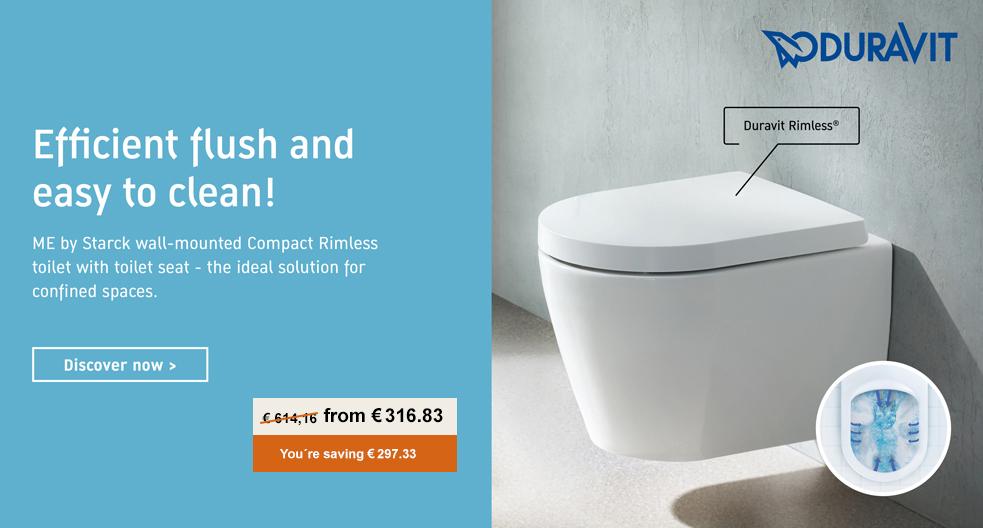 Duravit Rimless toilet