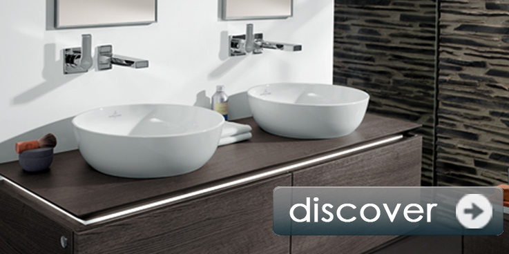 Washbasin by Villeroy & Boch - filigree lightness.