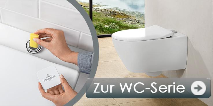 Subway 2.0-WC mit Frische-lösung von Villeroy & Boch.