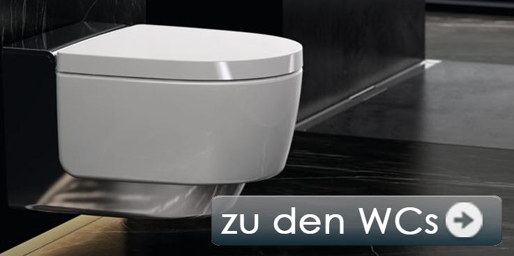 Marken Toiletten in zahlreichen Ausführungen.
