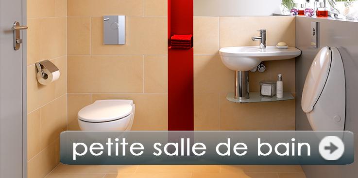 Petite salle de bain, confort maximum.