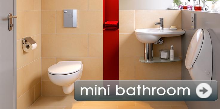 Small bathroom, maximum comfort.