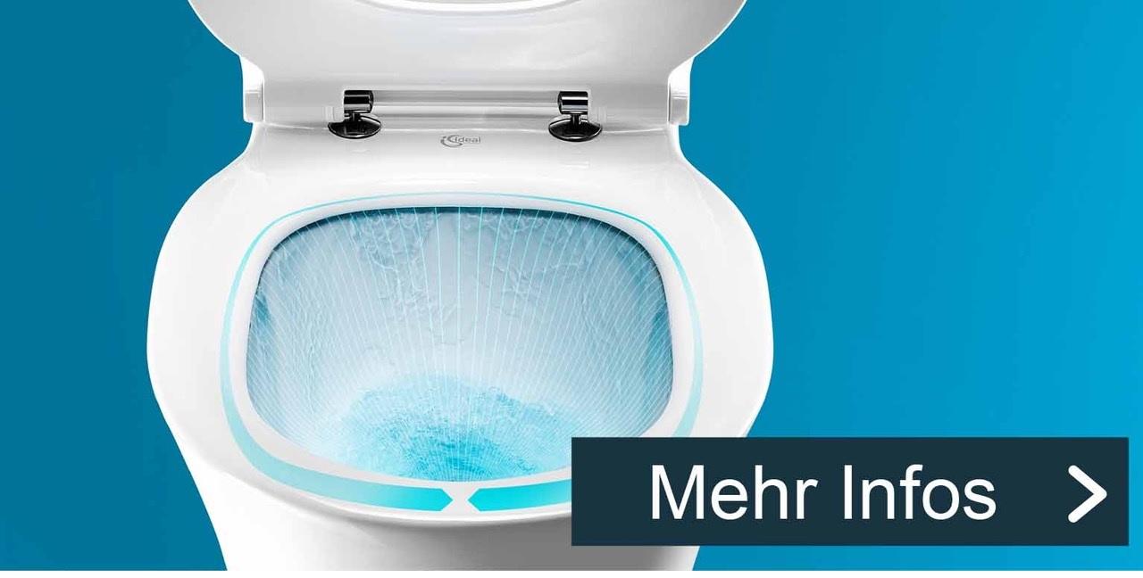 Neuer Hygienestandard für spülrandlose WCs - AquaBlade.