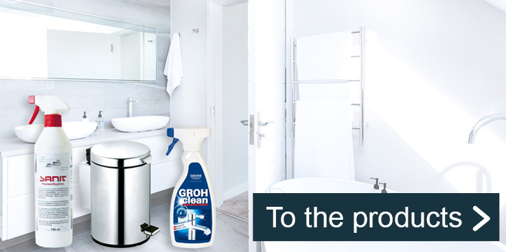Disinfection & cleaning products for maximum hygiene.