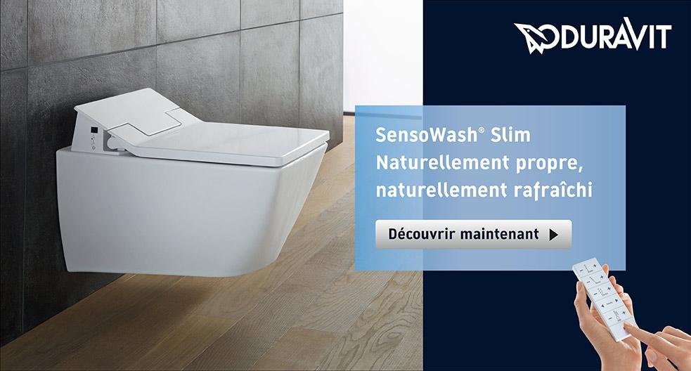 WC lavant Duravit Sensowash